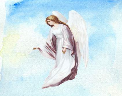 Un Angelo in cielo azzurro