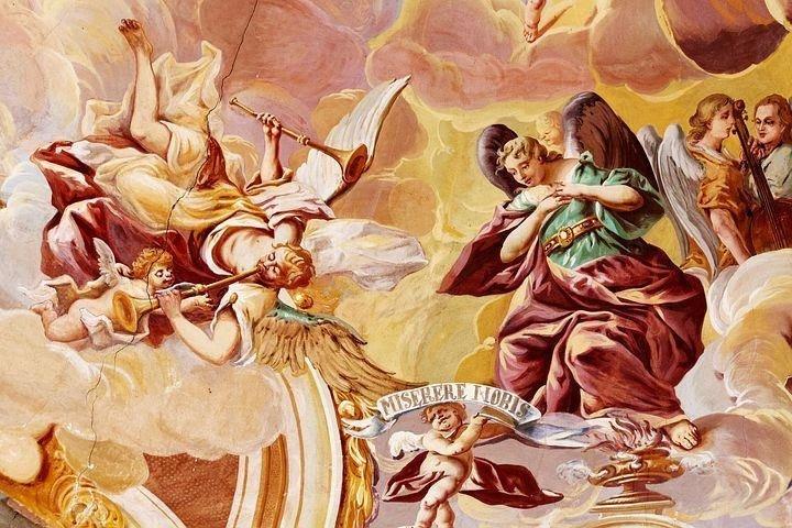 Dipinto con Angeli
