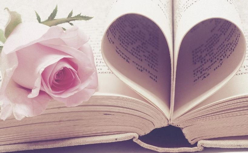 Rosa e libro Angeli